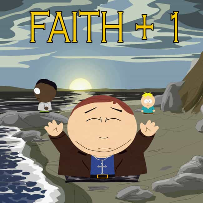 Christian Rock Hard is listed (or ranked) 3 on the list All South Park Religion Episodes, Ranked
