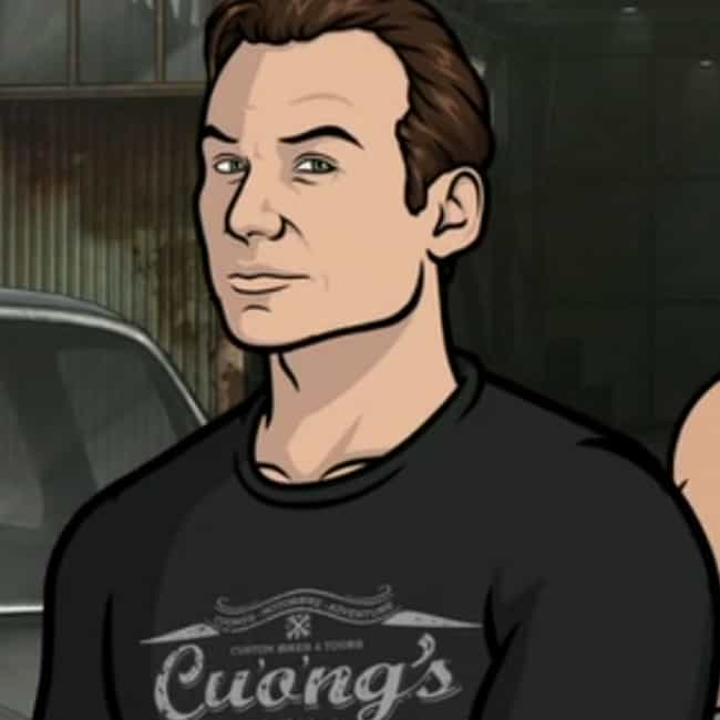 Christian Slater is listed (or ranked) 3 on the list All the Villains & Nemeses on Archer