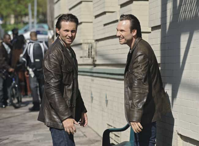 Christian Slater is listed (or ranked) 6 on the list Awesome Photos Of Celebrities With Their Stunt Doubles