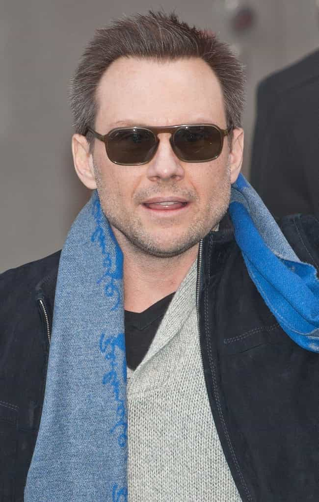 Christian Slater is listed (or ranked) 4 on the list Sharon Stone's Loves & Hookups
