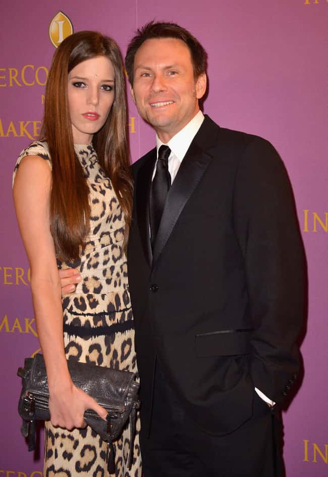 Christian Slater is listed (or ranked) 29 on the list 48 Famous Couples with Huge Age Differences