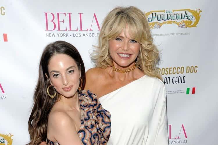 Christie Brinkley And Her Daughter Alexa