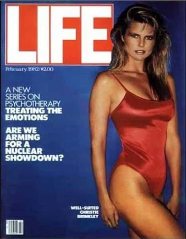 Christie Brinkley is listed (or ranked) 4 on the list The Best Life Magazine Covers