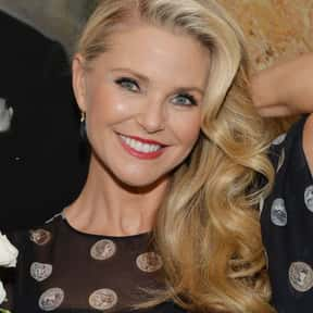 Christie Brinkley is listed (or ranked) 3 on the list Celebrity Women Over 60 You Wouldn't Mind Your Dad Dating