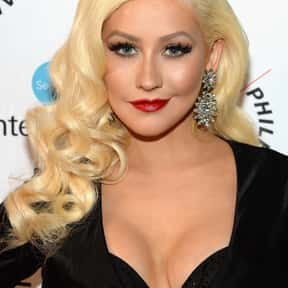 Christina Aguilera is listed (or ranked) 3 on the list List of Famous TV Personalities