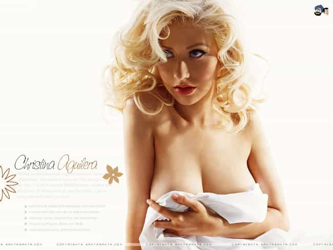 Christina Aguilera is listed (or ranked) 3 on the list The Hottest Busty Latina Women