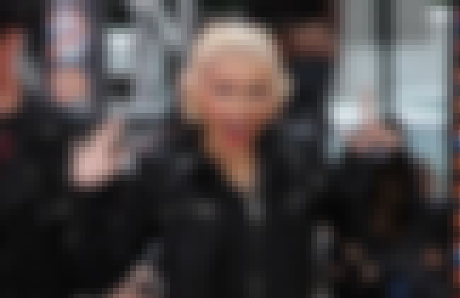 Christina Aguilera is listed (or ranked) 7 on the list List of Famous Dancers