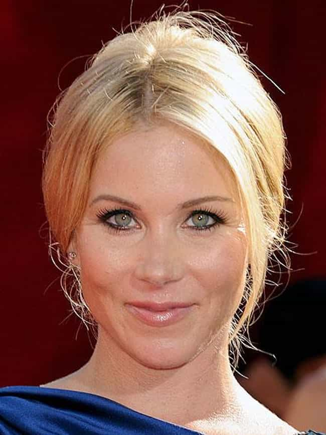 Christina Applegate is listed (or ranked) 1 on the list Women Who Christian Slater Has Dated