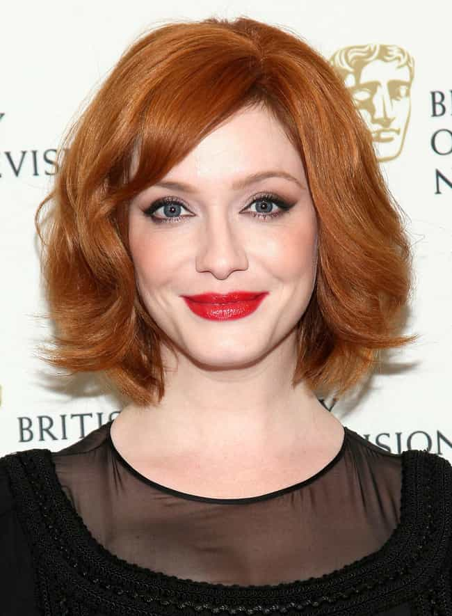 Christina Hendricks is listed (or ranked) 4 on the list 17 Delicious Celebrity Family Recipes