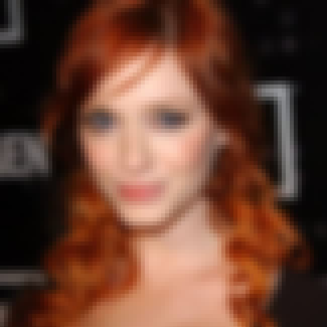 Christina Hendricks is listed (or ranked) 4 on the list The Most Beautiful Celebrity Irish Girls