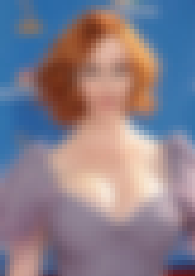 Christina Hendricks is listed (or ranked) 8 on the list The Finest Breasts In Entertainment