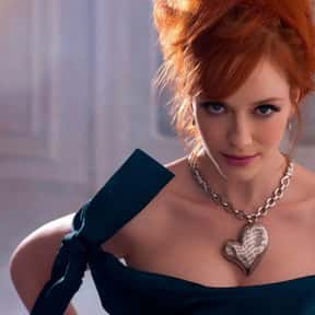 Christina Hendricks is listed (or ranked) 3 on the list Famous People Named Christina