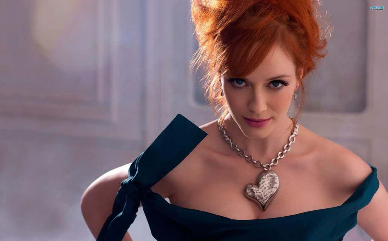 Christina Hendricks is listed (or ranked) 3 on the list Famous People Born in 1975