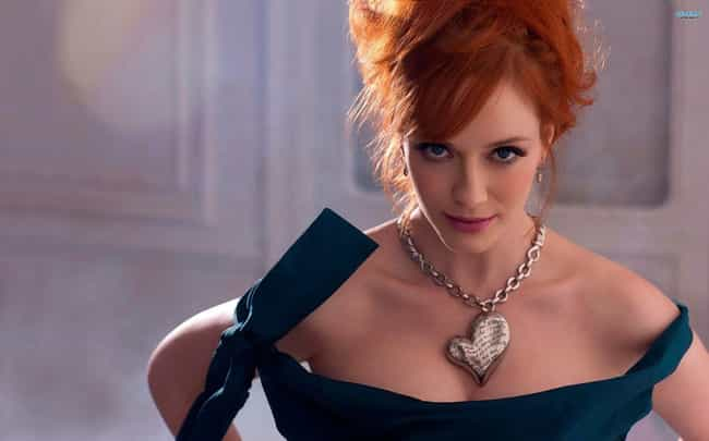 Christina Hendricks is listed (or ranked) 4 on the list The Most Beautiful Redhead Actresses