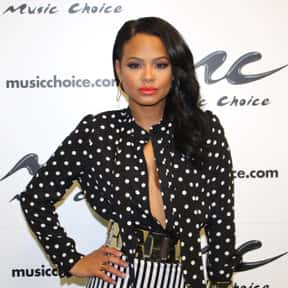 Christina Milian is listed (or ranked) 7 on the list Famous People Named Christina