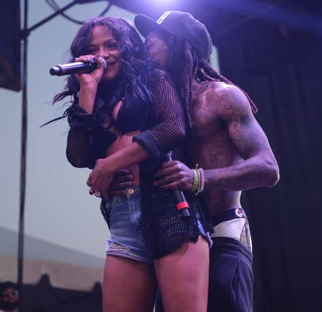 Christina Milian is listed (or ranked) 3 on the list Lil Wayne's Loves & Hookups