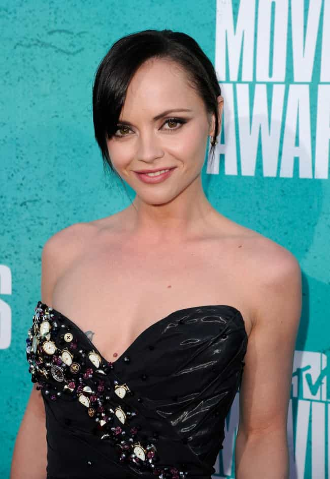 Christina Ricci is listed (or ranked) 3 on the list 26 Celebrities with Chest Tattoos