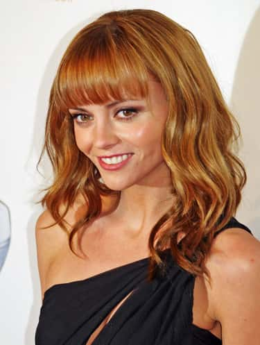 Christina Ricci Has a Fear of  is listed (or ranked) 1 on the list 32 Celebrities Who Have Insane Phobias