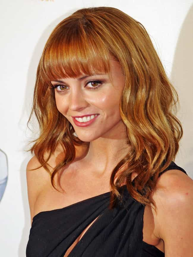 Christina Ricci is listed (or ranked) 1 on the list 32 Celebrities Who Have Insane Phobias