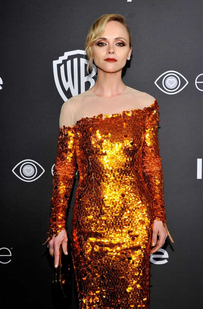 Christina Ricci is listed (or ranked) 2 on the list The Worst Fashion at the 2017 Golden Globes