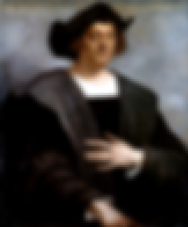 Christopher Columbus is listed (or ranked) 1 on the list Historical Figures Possibly or Definitely Affected By Syphilis