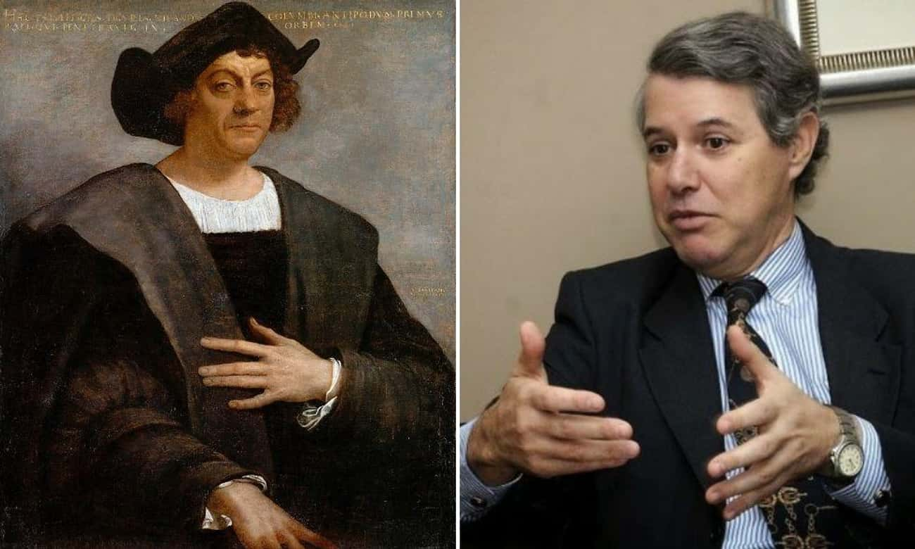 Cristobal Colon, 18th Great-Grandson Of Christopher Columbus, Is An Admiral In The Spanish Navy