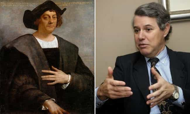 Christopher Columbus is listed (or ranked) 1 on the list Modern Descendants Of Historical Figures Who Work In The Same Field