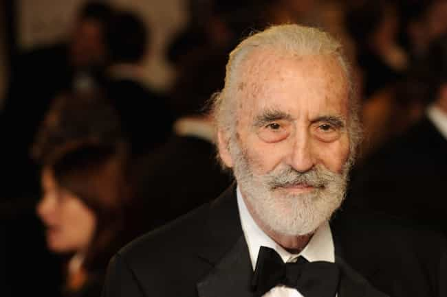 Christopher Lee is listed (or ranked) 4 on the list 13 Famous People Who Allegedly Practiced Black Magic