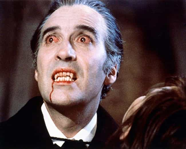 Christopher Lee is listed (or ranked) 2 on the list The Best Actors Who Played Dracula