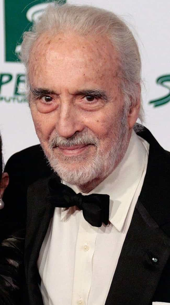 Christopher Lee is listed (or ranked) 3 on the list Actors in the Most Tim Burton Movies