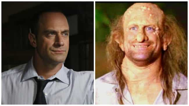 Christopher Meloni is listed (or ranked) 4 on the list 23 Times You've Seen the Actors from SVU Before