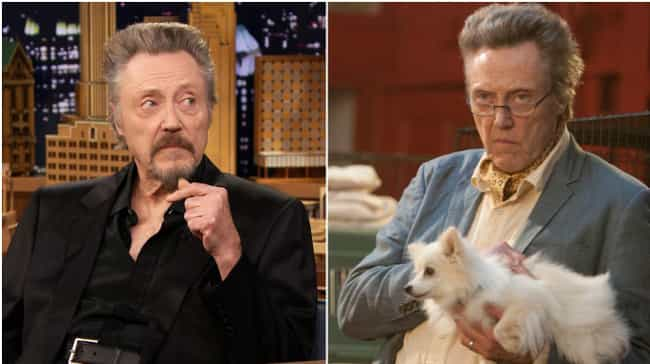 Christopher Walken is listed (or ranked) 1 on the list Actors Known for Roles Most Similar to Who They Are in Real Life
