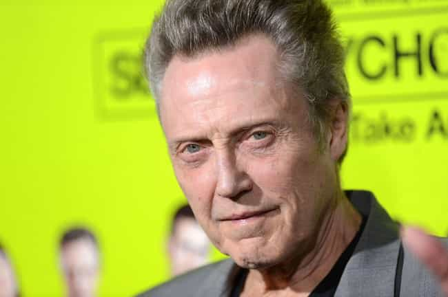 Christopher Walken is listed (or ranked) 3 on the list Famous People Born in 1943
