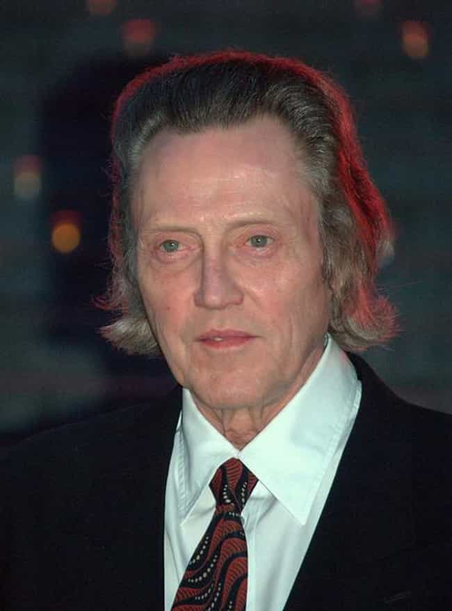 Christopher Walken is listed (or ranked) 1 on the list Celebrities Who Had Weird Jobs Before They Were Famous