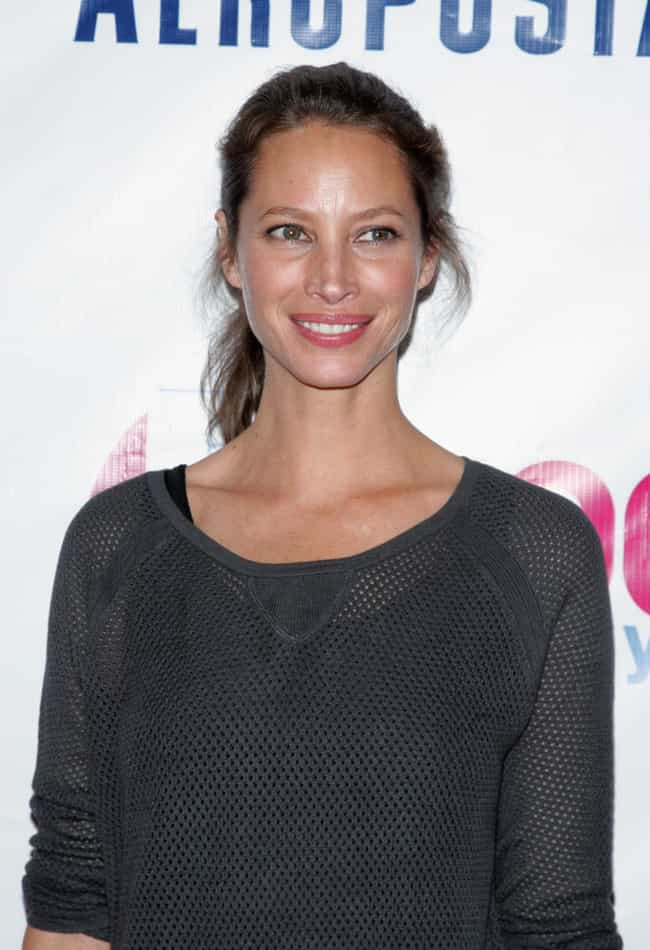 Christy Turlington Burns... is listed (or ranked) 1 on the list Famous Friends of Cindy Crawford