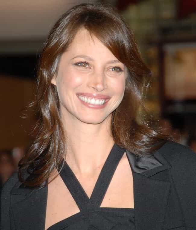 Christy Turlington Burns is listed (or ranked) 2 on the list Women Who Christian Slater Has Dated
