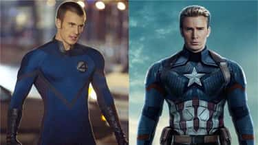 Chris Evans (From 'Fantastic 4' To MCU)
