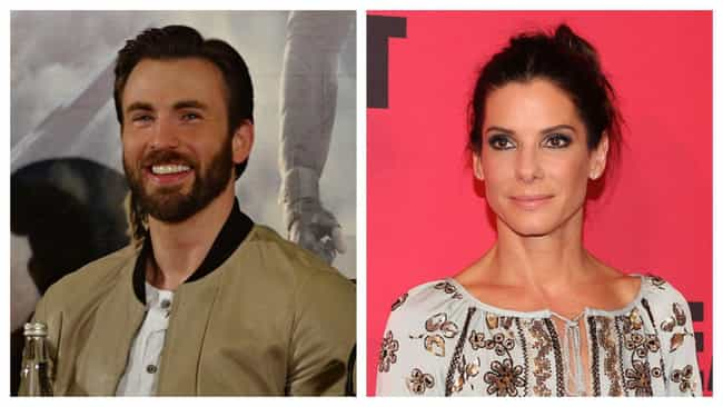 Chris Evans is listed (or ranked) 6 on the list Celebrities' First Celebrity Crushes From Before They Were Famous
