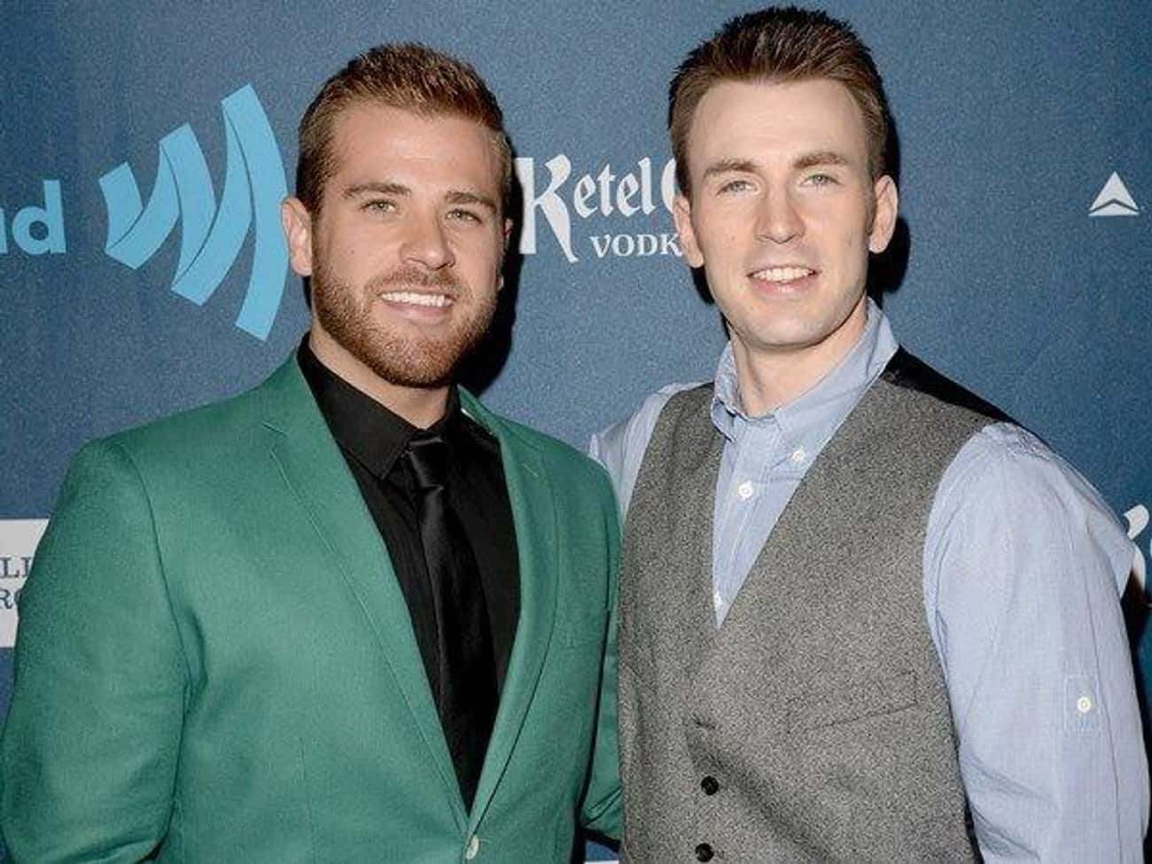 Chris Evans is listed (or ranked) 2 on the list Celebrities with Gay Siblings