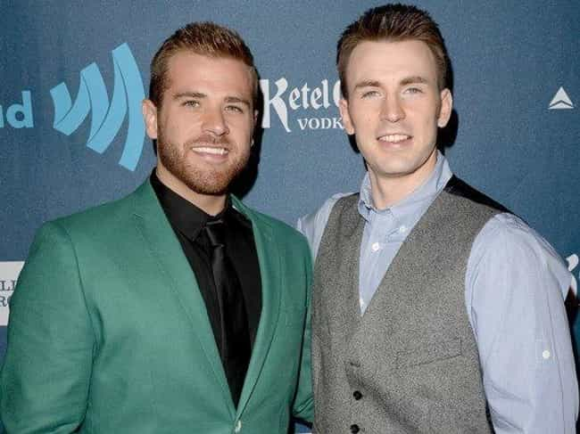 Chris Evans is listed (or ranked) 2 on the list 20 Celebrities with Gay Siblings