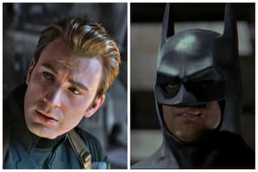 Chris Evans Caped For The Batman