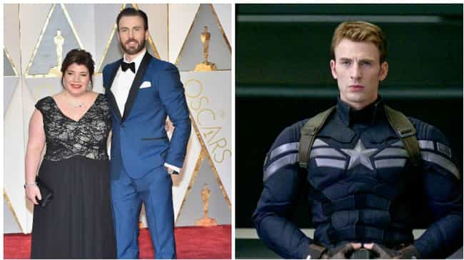 Chris Evans is listed (or ranked) 5 on the list Everything The Stars Looked Like At The 2017 Academy Awards