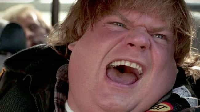 Chris Farley is listed (or ranked) 6 on the list Actors Whose Main Thing Is Screaming, Ranked By The Primal Force Of Their Screams