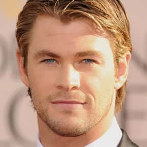 Chris Hemsworth is listed (or ranked) 23 on the list The Best (Male) Actors Working Today