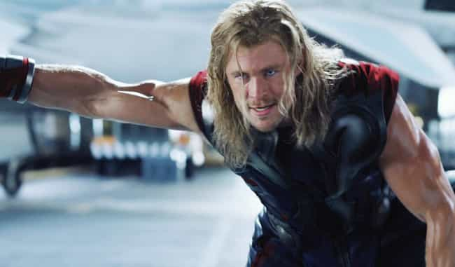 Chris Hemsworth is listed (or ranked) 2 on the list The Best Marvel Superhero Movie Actors