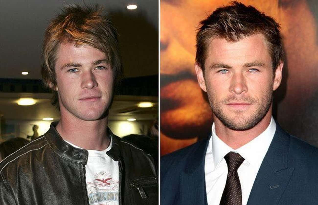 Chris Hemsworth is listed (or ranked) 3 on the list Celebrities Who Have Aged the Best