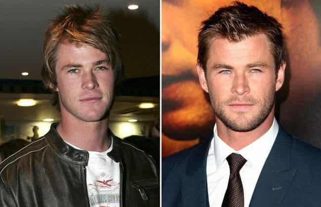 Chris Hemsworth is listed (or ranked) 2 on the list Celebrities Who Have Aged the Best