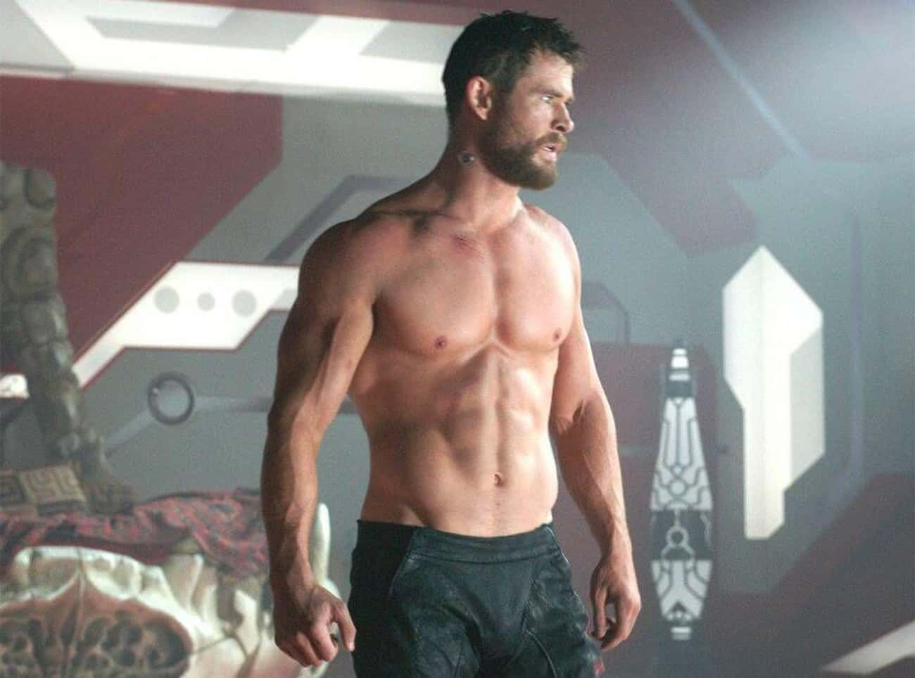 Chris Hemsworth is listed (or ranked) 1 on the list Male Actors Who Are Definitely Taking Off Their Shirt In Movies