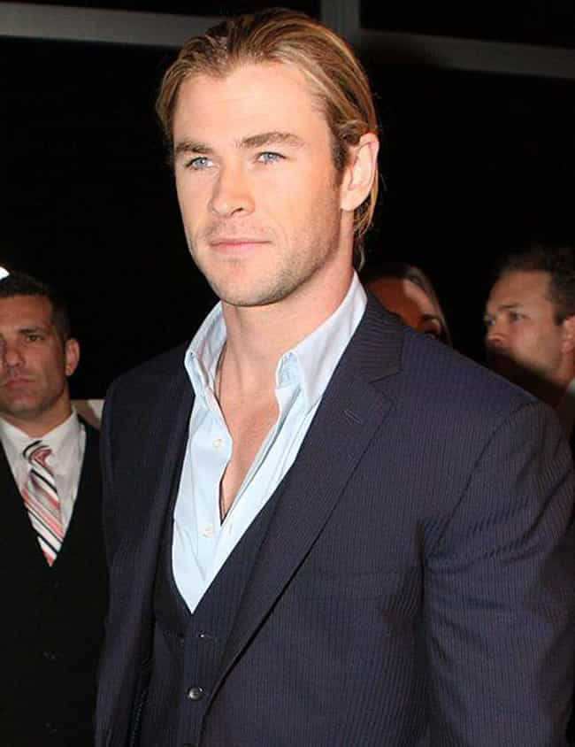 Chris Hemsworth is listed (or ranked) 4 on the list The Greatest Celebrity Hair (Men)