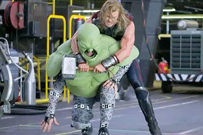 Chris Hemsworth is listed (or ranked) 4 on the list Hilarious Photos Of Actors Looking Ridiculous In Performance Capture